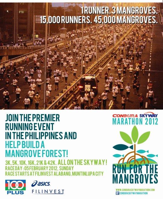 Condura Skyway Marathon poster
